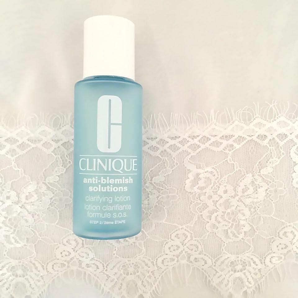 clinique anti blemish clarifying lotion