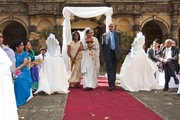 Indian Wedding Bride Arrival